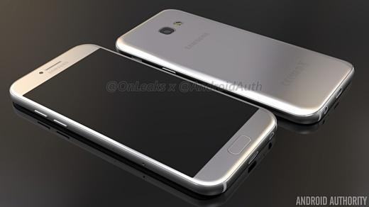 В сеть вновь попали характеристики Samsung Galaxy A5 (2017)