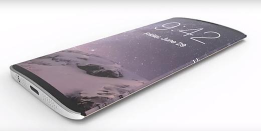 Неофициально: iPhone 8 получит пластиковый искривленный OLED-дисплей Samsung