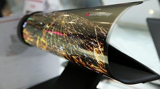 LG разрабатывает гибкие дисплеи вместе с Google, Microsoft и Apple