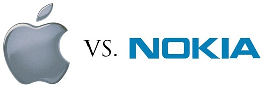 Nokia подала в суд на Apple из-за своих патентов