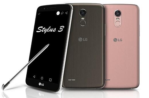 LG анонсировала смартфоны серии K 2017 и Stylus 3