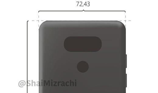 В сеть попал рендер следующего флагманского смартфона LG