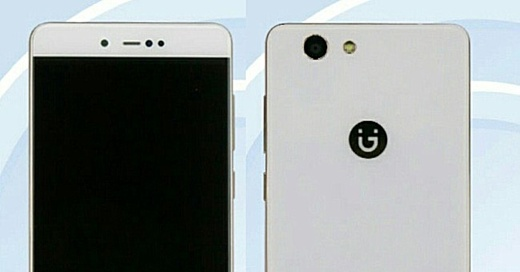 В базе TENAA заметили недорогой смартфон Gionee F106