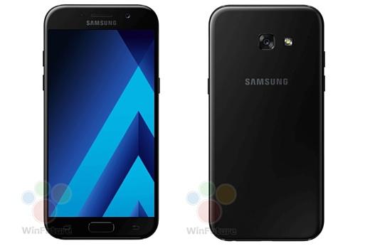 Утечка: новые рендеры Samsung Galaxy A5 (2017) и A3 (2017)