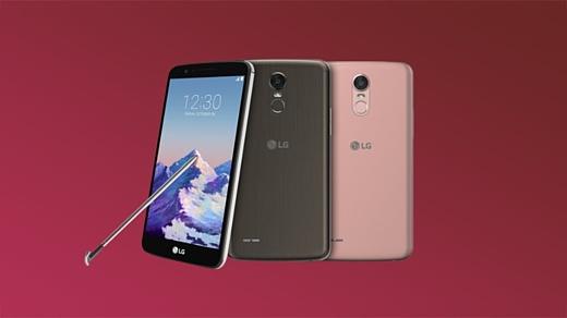 LG привезла на CES 2017 смартфон Stylo 3