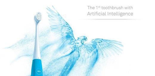 Kolibree Ara — первая зубная щетка с искусственным интеллектом