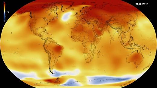 НАСА: «2016 был самым жарким за всю историю наблюдений»