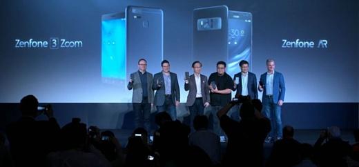 Asus представит смартфоны Zenfone 4 в мае