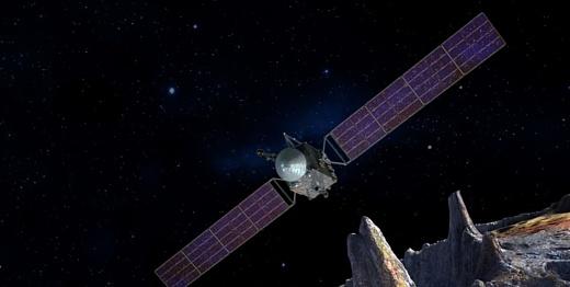 НАСА исследует астероид, который целиком состоит из металла