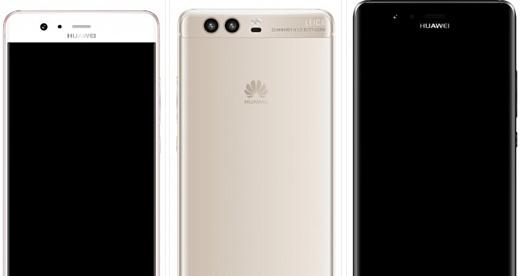 В сеть попали новые рендеры Huawei P10