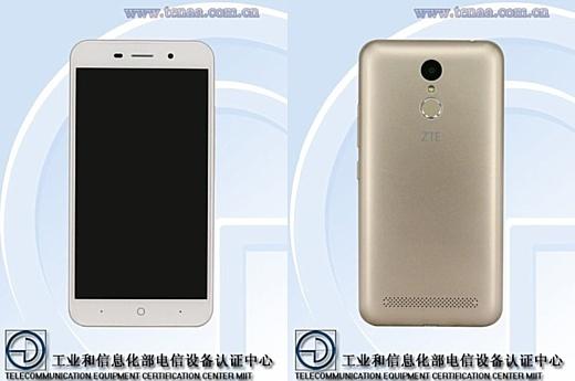 В базе данных TENAA появился неанонсированный смартфон ZTE BA602