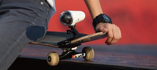 ZeroTech анонсировала 4К экшн-камеру Rollcap