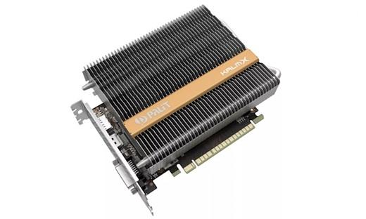 Palit представила видеокарту GeForce GTX 1050 Ti с пассивным охлаждением