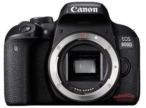 В сеть попали фото и характеристики Canon EOS 77D и EOS 800D/Rebel T7i