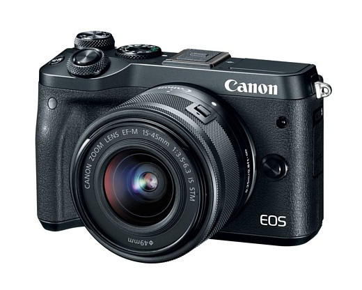 Canon представила беззеркальную камеру EOS M6