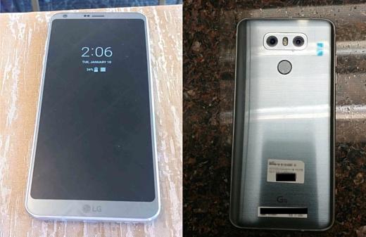 В сеть попали новые фото LG G6