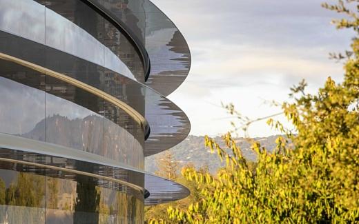 Новую штаб-квартиру Apple откроют в апреле
