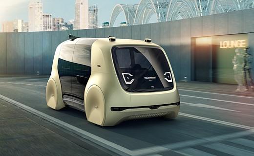 Volkswagen показала собственный автономный автомобиль Sedric