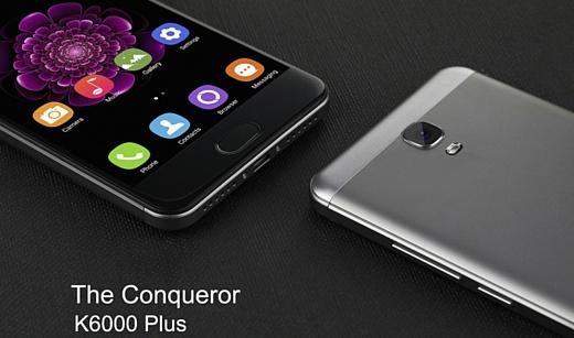 Oukitel выпустила недорогой выносливый смартфон K6000 Plus