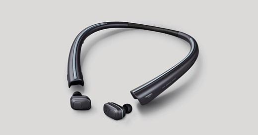 LG выпустила беспроводные наушники Tone Free