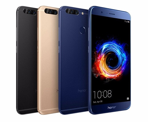 Huawei анонсировала мощный смартфон Honor 8 Pro