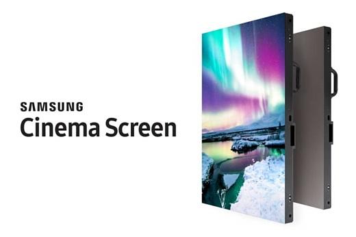 Samsung выпустила 10-метровый экран 4K LED HDR Cinema Screen