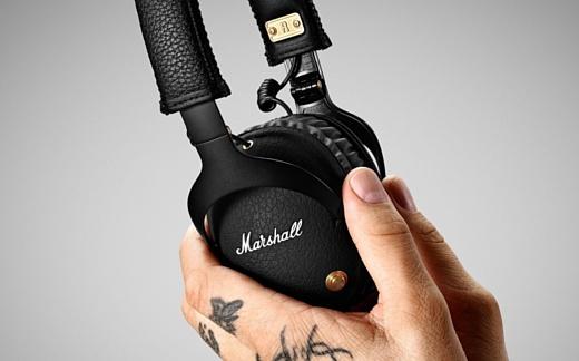 Marshall представила наушники Monitor Bluetooth