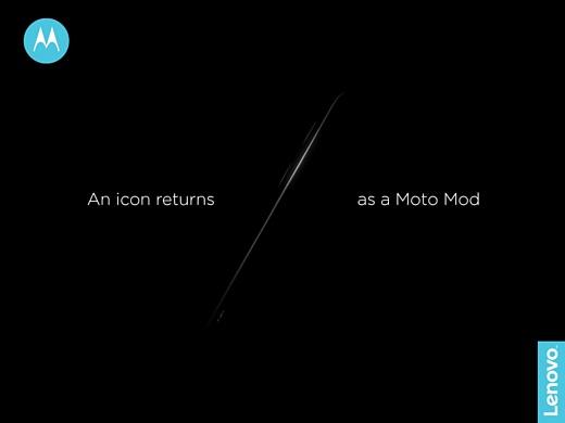 Motorola выпустит Moto Mod, который напомнит о серии RAZR