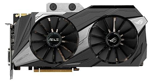 Asus анонсировала видеокарту ROG Poseidon GeForce GTX 1080 Ti