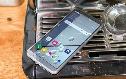 Видео: LG G6 подвергли испытанию огнем