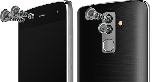 Новый смартфон Alcatel Flash получил четыре камеры