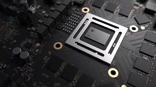 Microsoft раскрыла технические характеристики Xbox Scorpio