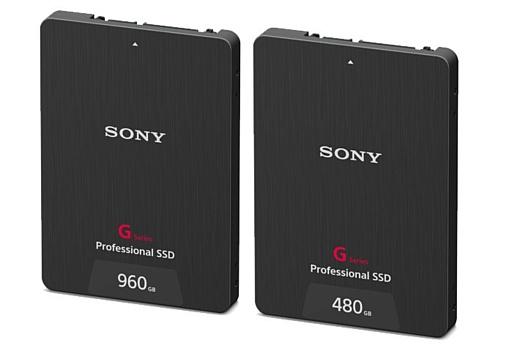 Sony выпустила новые SSD для записи 4К-видео