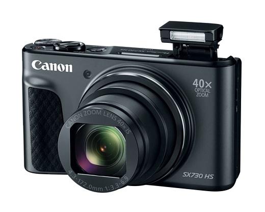 Canon представила компактную камеру PowerShot SX730