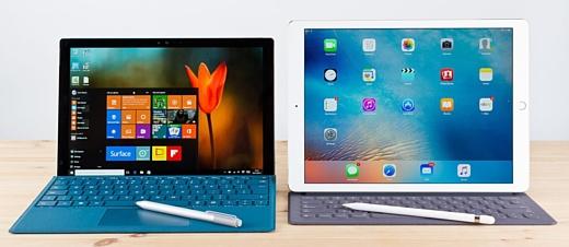 Планшеты Surface обошли iPad в рейтинге удовлетворения пользователей
