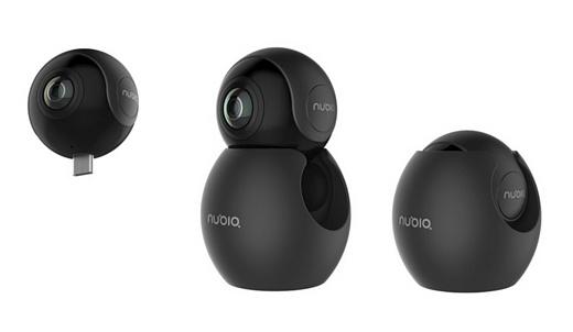ZTE представила VR-камеру nubia NeoAir