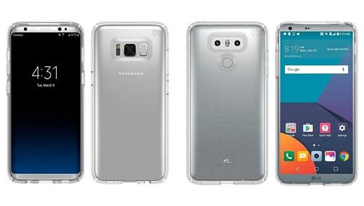 Видео: сравнение скорости работы Samsung Galaxy S8 и LG G6