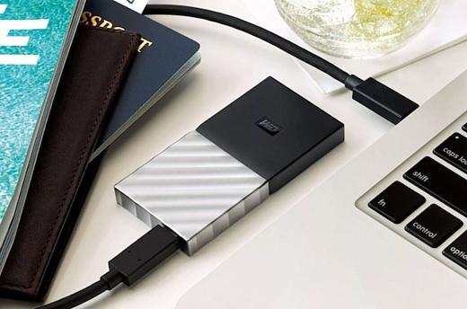 Western Digital выпустила свой первый портативный SSD