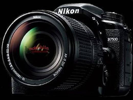 Утечка: фото камеры Nikon D7500