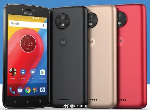 Слух: Motorola готовит недорогой смартфон Moto C