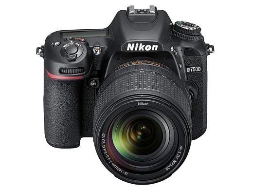 Nikon показала новую зеркальную камеру D7500