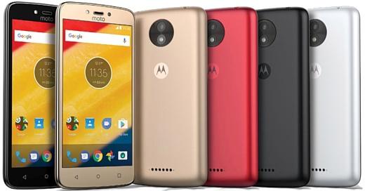 Выяснились точные характеристики Motorola Moto C и Moto C Plus
