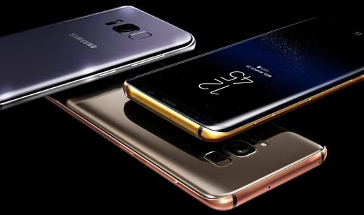 Truly Exquisite выпустит Galaxy S8 и S8+, покрытые 24-каратным золотом