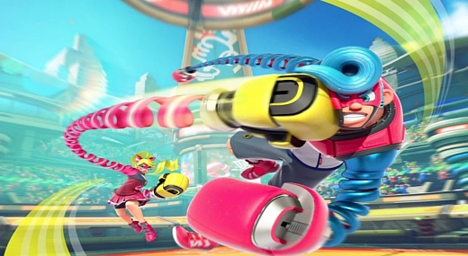 Nintendo выпустит ARMS 16 июня