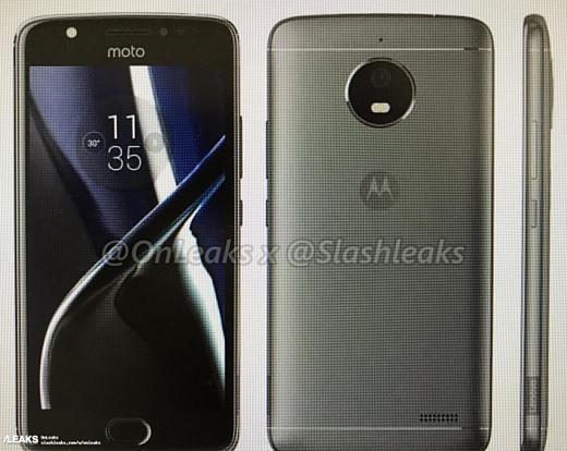 Опубликованы пресс-рендеры новых смартфонов Motorola