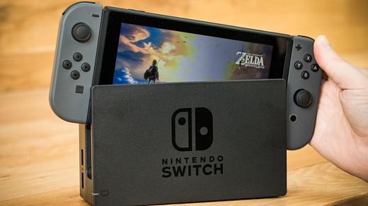 Nintendo продала больше 2.4 млн консолей Switch