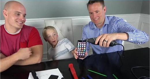 Видео: батарея Galaxy S8 настолько безопасна, что не взрывается при протыкании