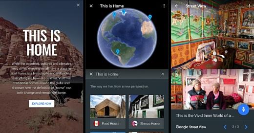 Google перезапустила сервис Earth