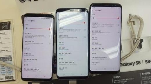 Первые владельцы Galaxy S8 пожаловались на покраснение экрана