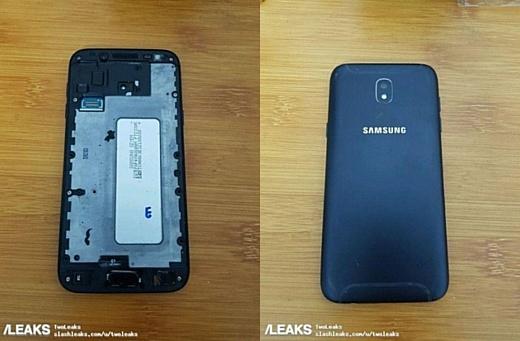 В сеть попали фото Samsung Galaxy J5 (2017)